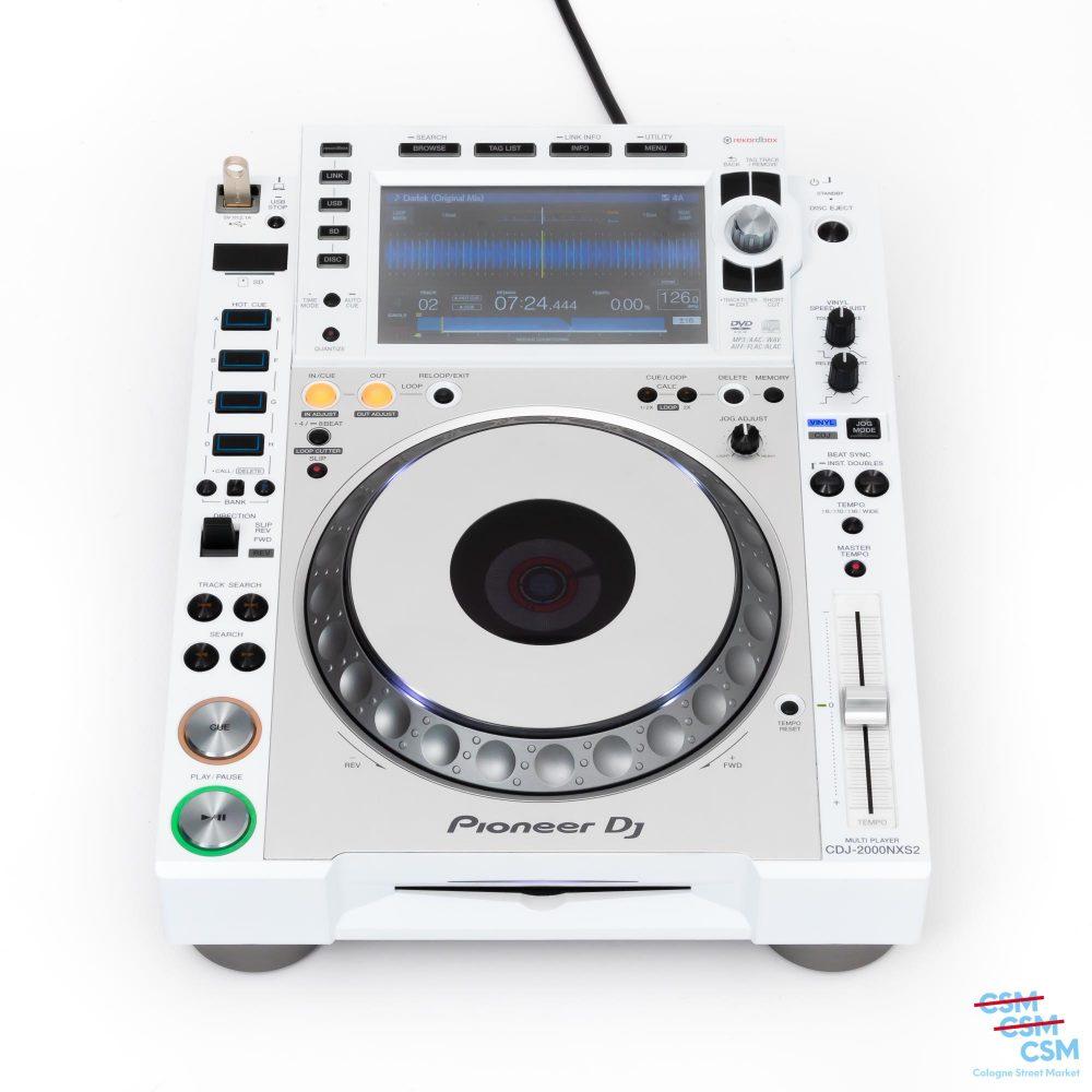 Pioneer DJ CDJ 2000 NXS Limited White gebraucht 1