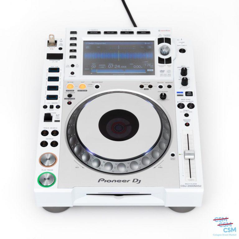 Pioneer-DJ-CDJ-2000-NXS-Limited-White-gebraucht-1